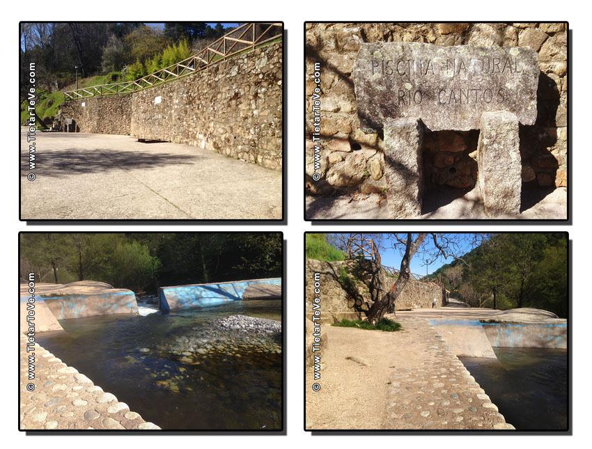 Piscina Natural Rio Cantos - Ruta El Hornillo - Majadalascabras - Escarilluelas - TiétarTeVe
