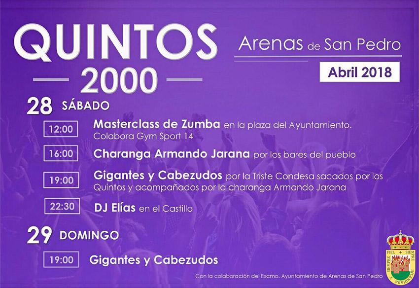 Quintos 2000 Arenas de San Pedro - TiétarTeVe