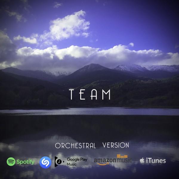 """Portada """"Team"""" - Daniel Jiménez - hijo - TiétarTeVe"""