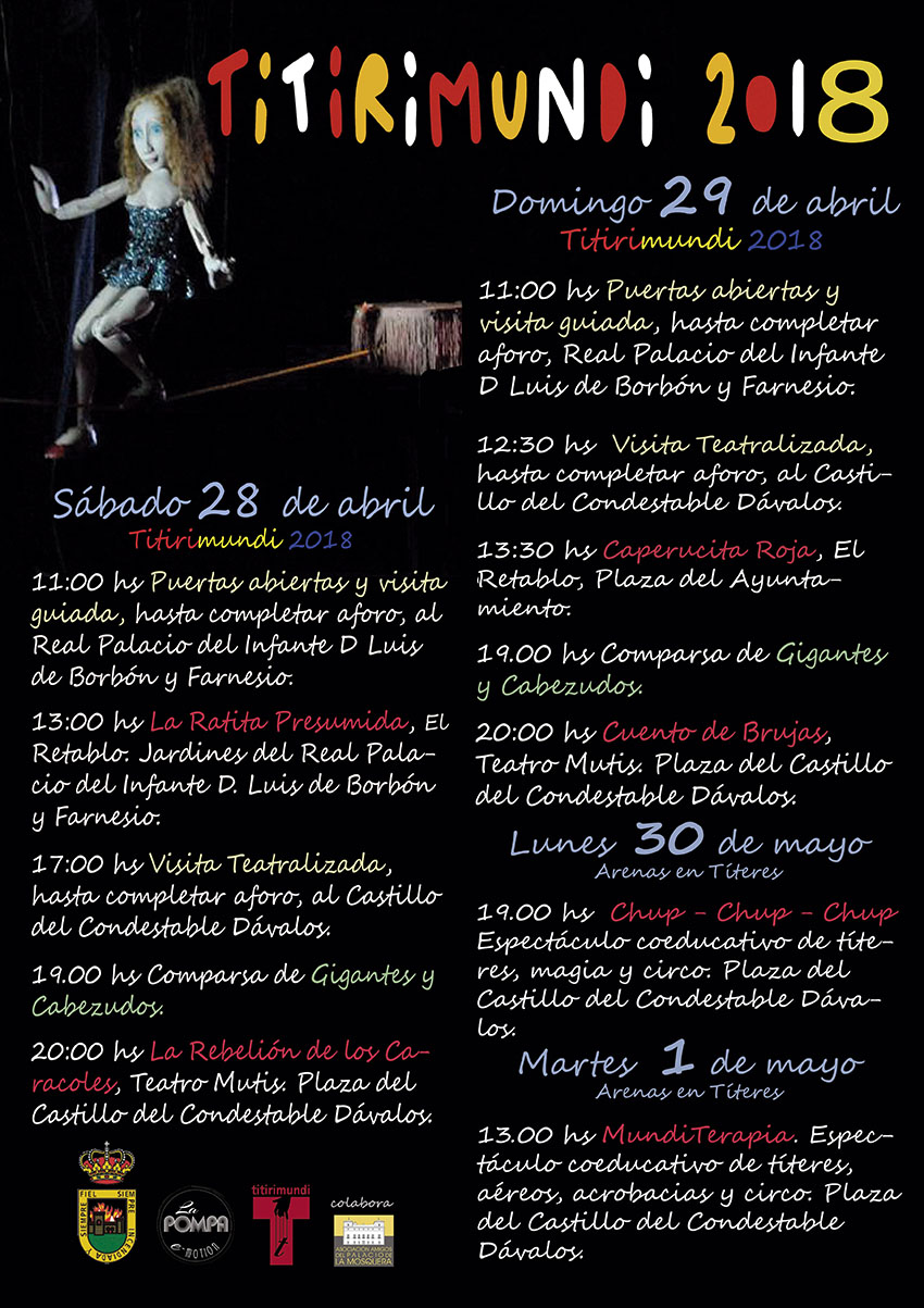 Titirimundi - Arenas de San Pedro 2018 - TiétarTeVe