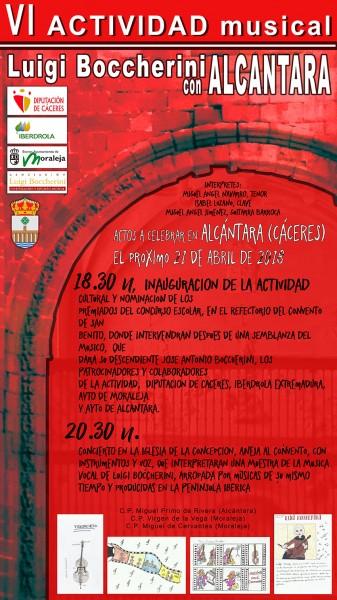 VI Actividad Musical Alcántara con Boccherini - TiétarTeVe