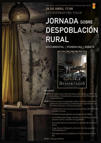 Jornada Despoblación Rural - San Esteban del Valle - TiétarTeVe