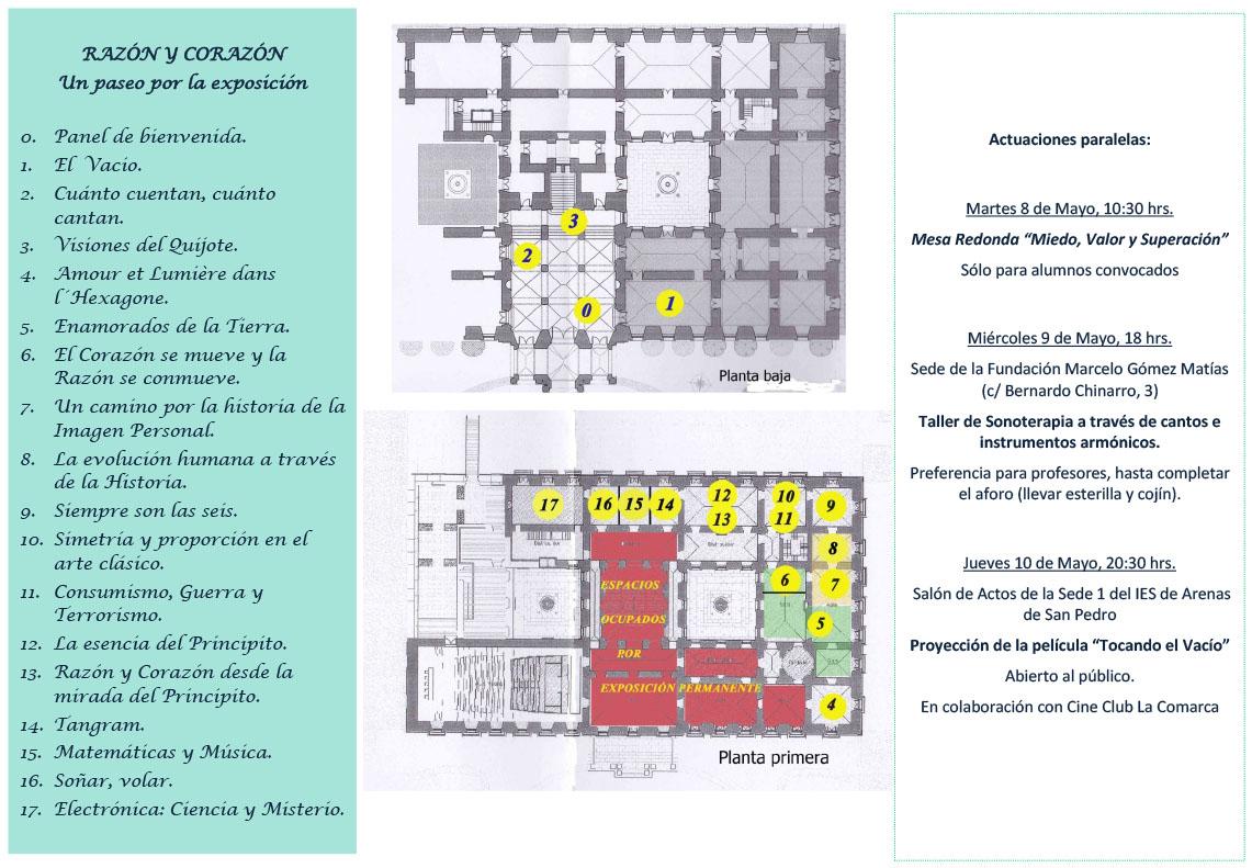 Tríptico Razón y Corazón - Perspectivas desde el Palacio - Arenas de San Pedro - TiétarTeVe