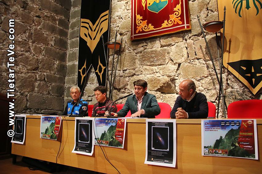 Rueda de Prensa Desafío Galayos - Arenas de San Pedro - TiétarTeVe