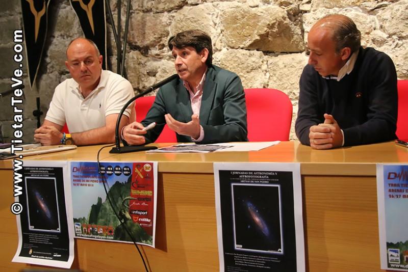 Rueda de Prensa - I Jornadas Astronomía y Astrofotografía - Arenas de San Pedro - TiétarTeVe