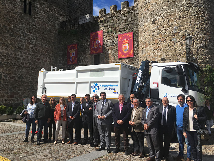 Camión Recogida Selectiva Valle del Tiétar - TiétarTeVe