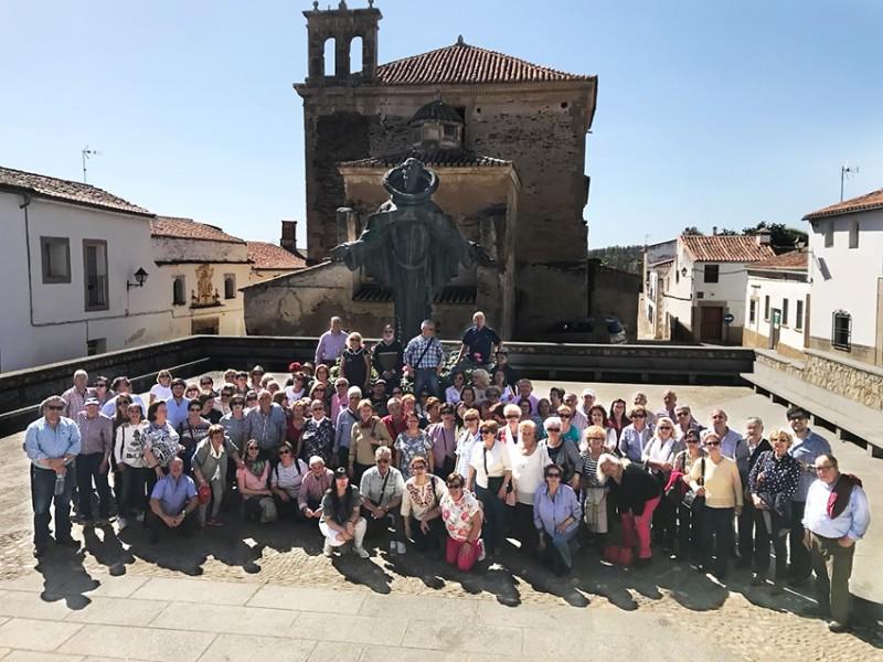 Excursión desde Arenas de San Pedro a Alcántara y El Palancar - TiétarTeVe