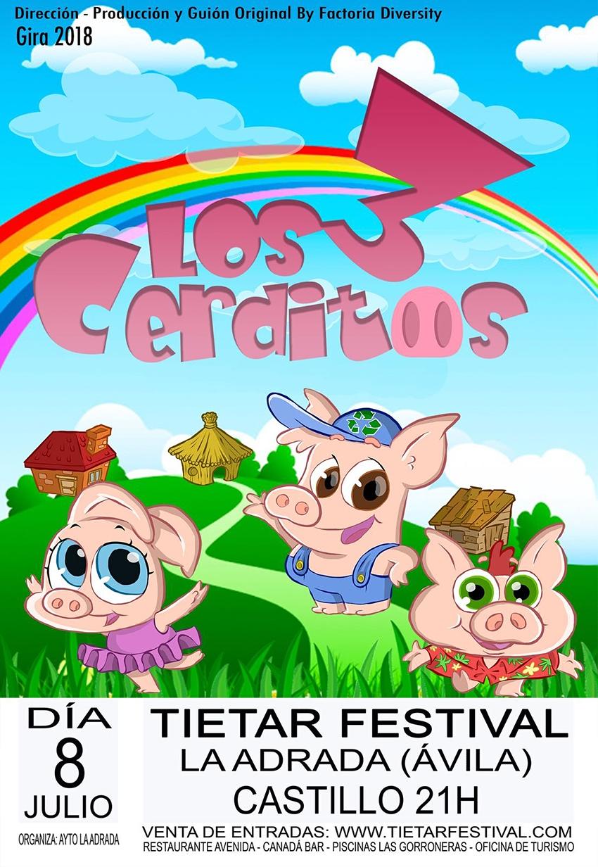 Festival del Tietar - Los 3 Cerditos - TiétarTeVe