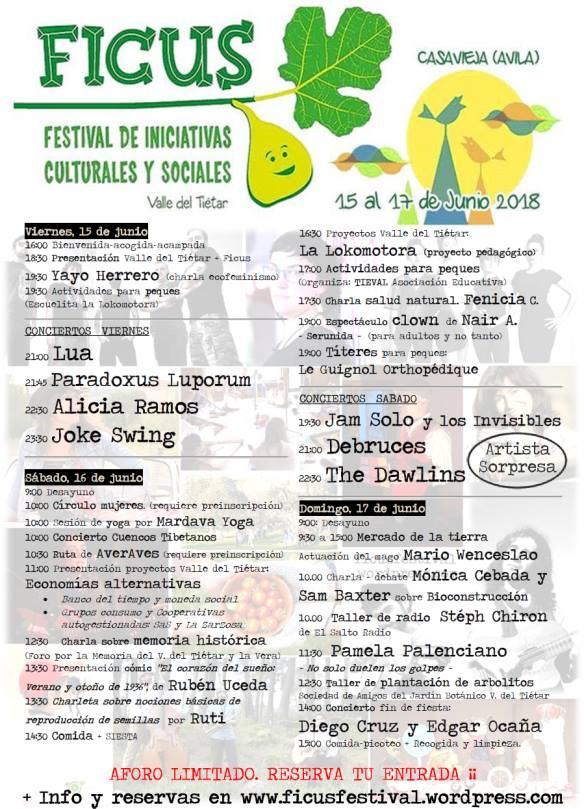 Ficus Festival - Casavieja - TiétarTeVe