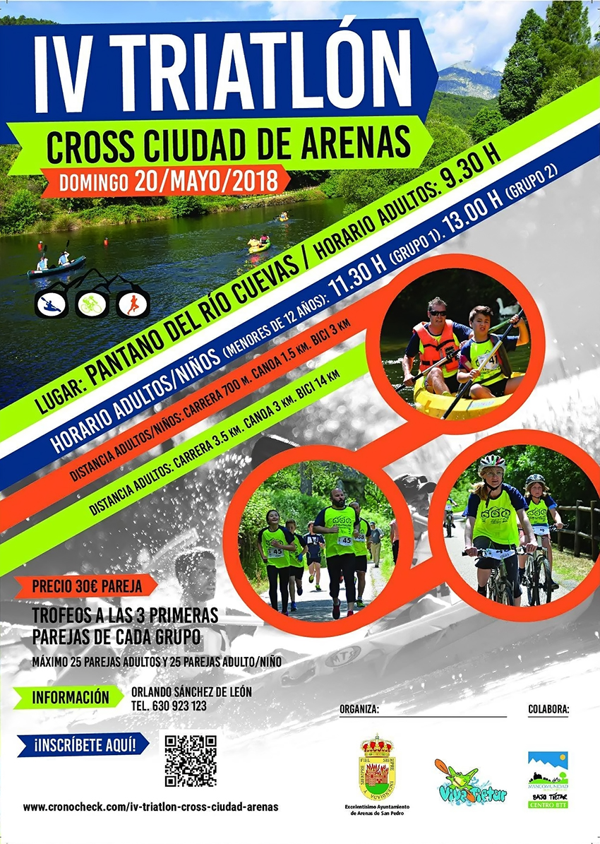 IV Triatlon Cross Ciudad de Arenas - Arenas de San Pedro - TiétarTeVe