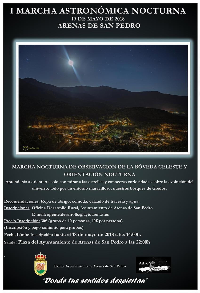 Marcha Astronómica Nocturna - Arenas de San Pedro - TiétarTeVe