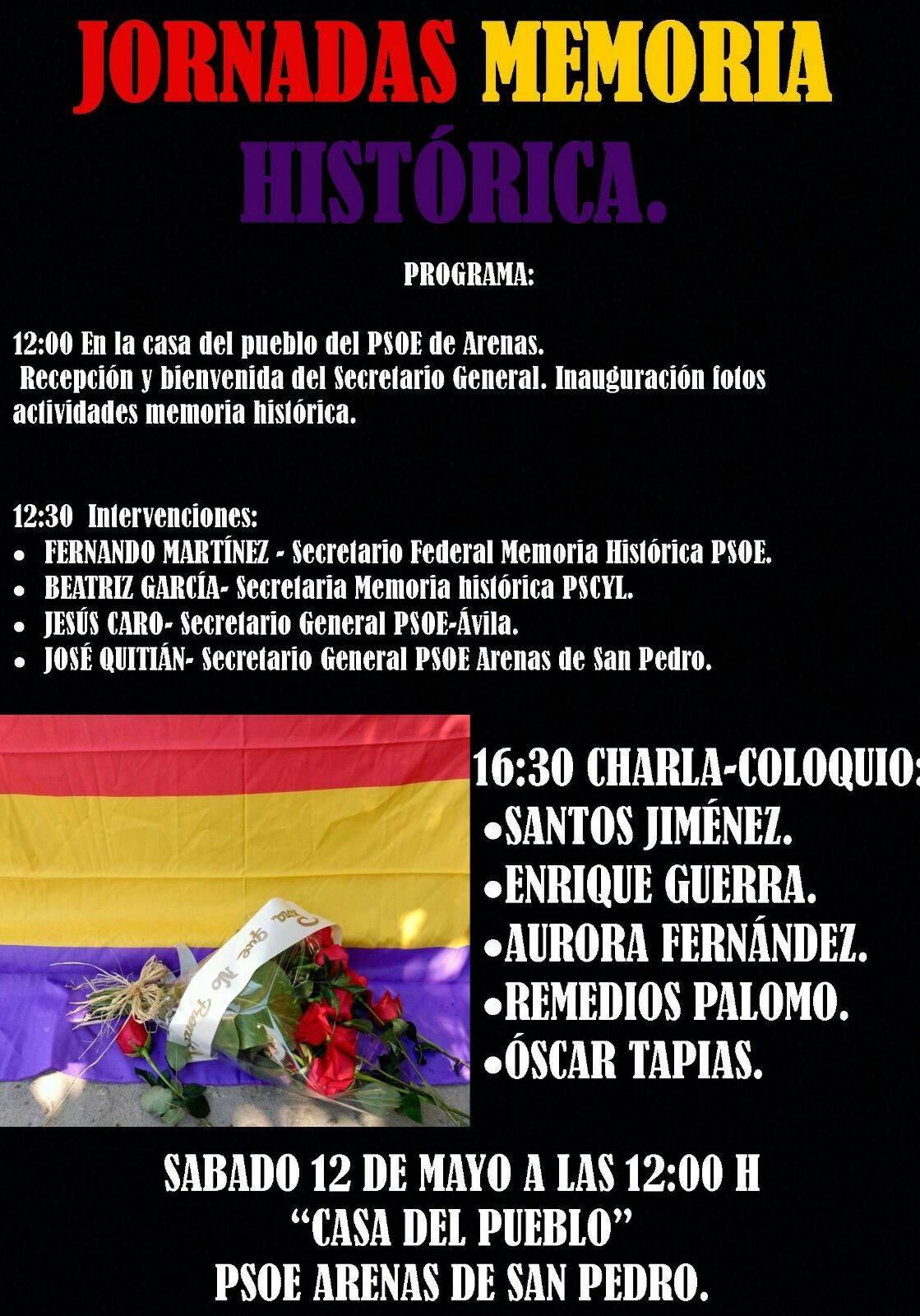 Memoria Histórica - Arenas de San Pedro - TiétarTeVe