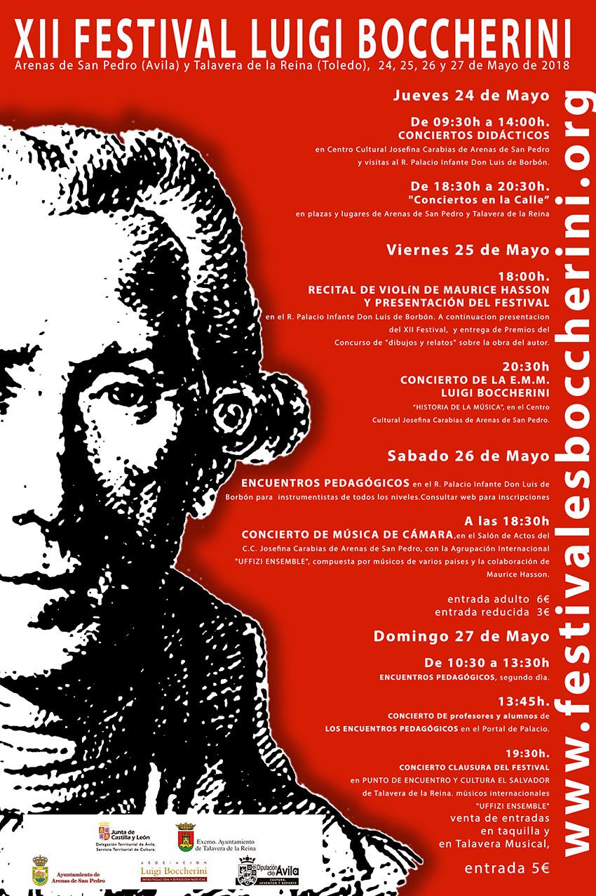 XII Festival Boccherini 2018 - Arenas de San Pedro y Talavera de La Reina - TiétarTeVe