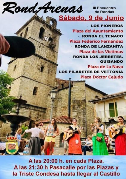III Encuentro de Rondas RondArenas en Arenas de San Pedro - TiétarTeVe