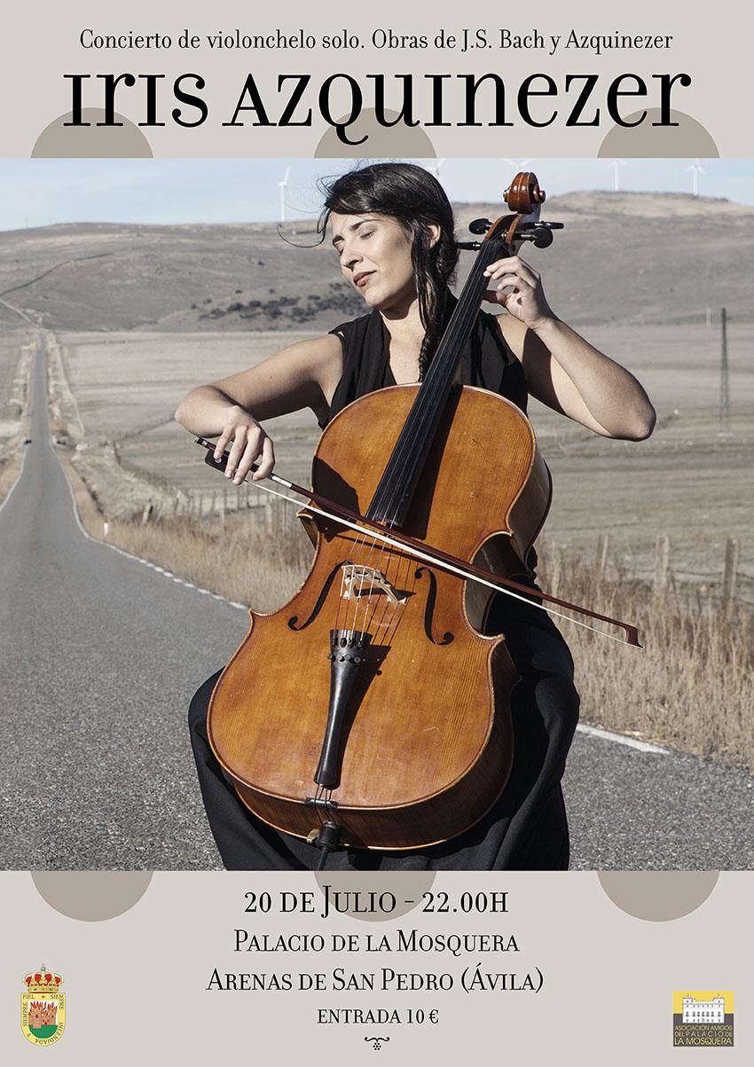 Concierto de Iris Azquinezer en Arenas de San Pedro - TiétarTeVe