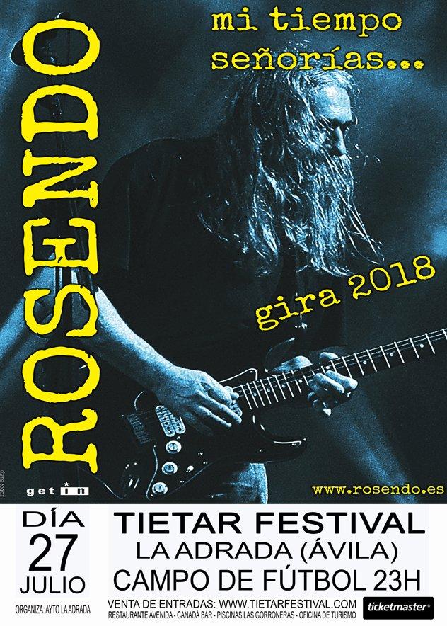Rosendo en La Adrada - Tiétar Festival - TiétarTeVe