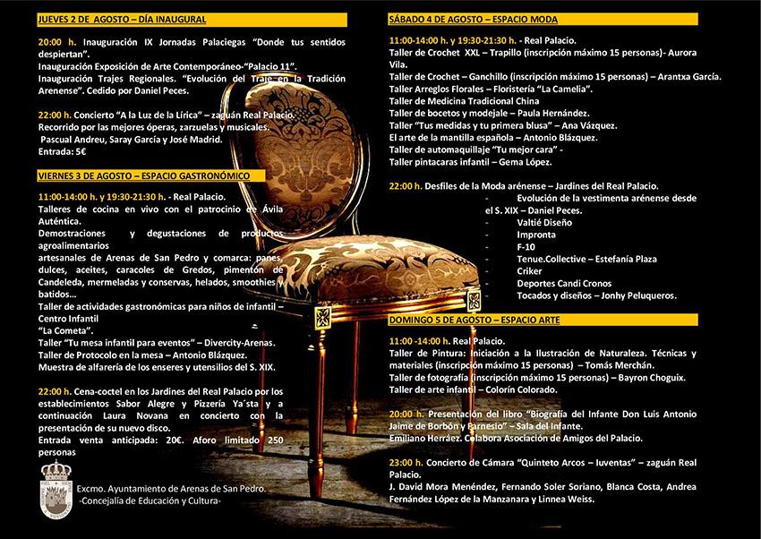 Jornadas Palaciegas - Arenas de San Pedro - TiétarTeVe