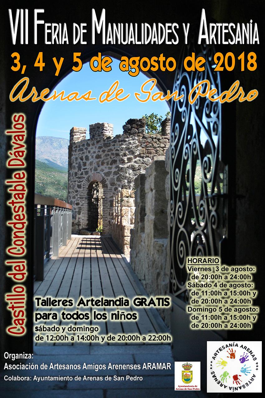 VII Feria Manualidades y Artesanía - Arenas de San Pedro - TiétarTeVe