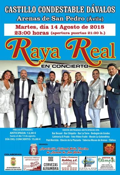 Raya Real en Arenas de San Pedro - TiétarTeVe