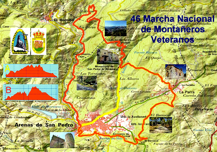 40 Marcha de Veteranos de Arenas de San Pedro - TiétarTeVe