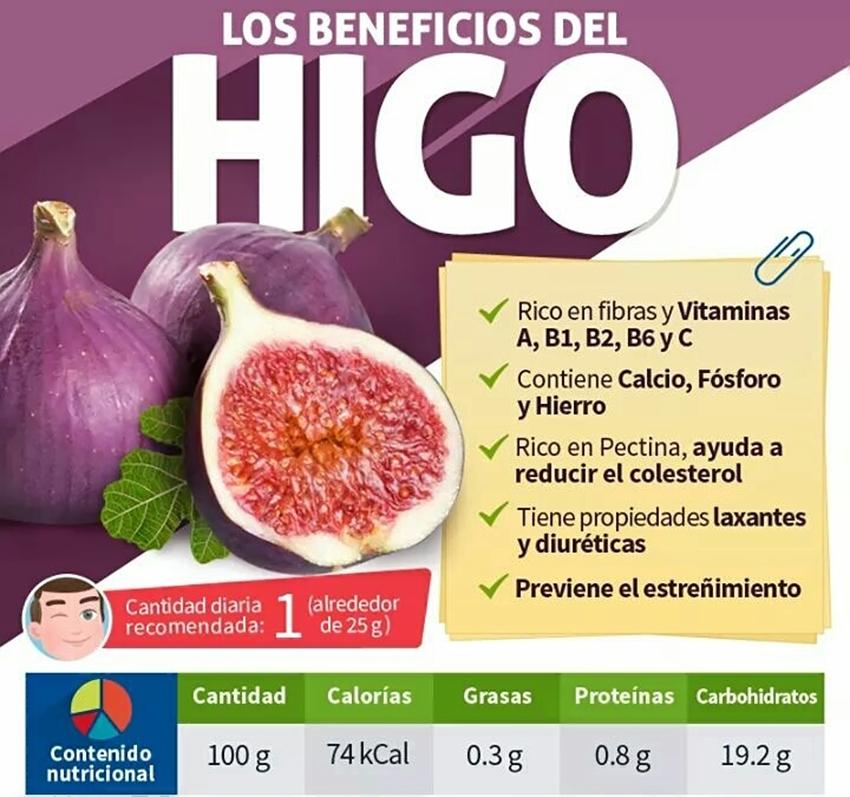 Beneficios del Higo - Carrega del Higo - Poyales del Hoyo - TiétarTeVe