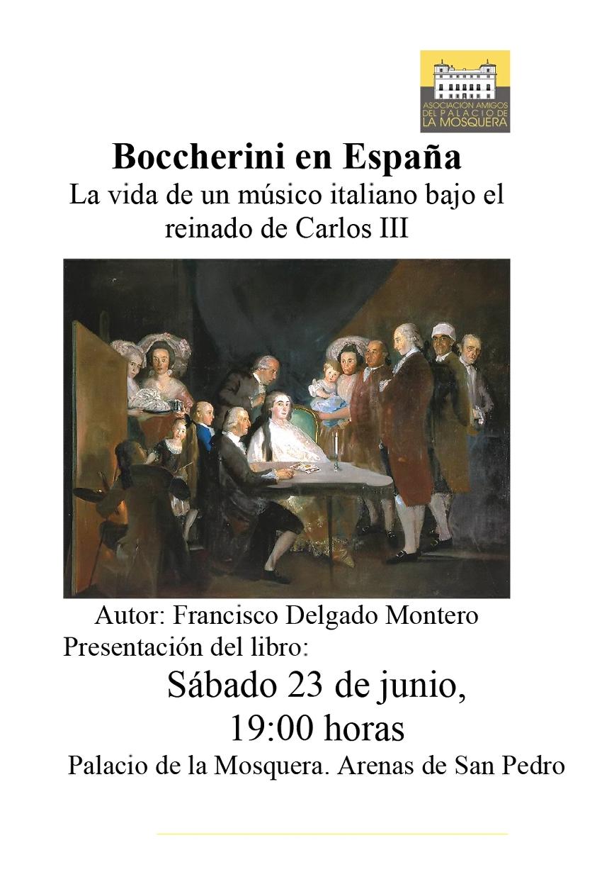 Boccherini en España - Presentación en Arenas de San Pedro - TiétarTeVe
