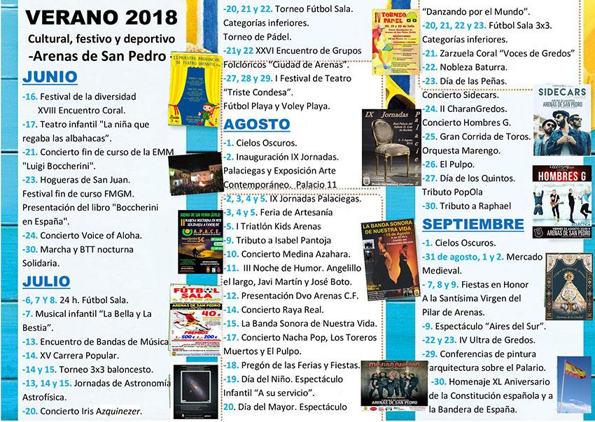 Verano 2018  - Arenas de San Pedro - TiétarTeVe