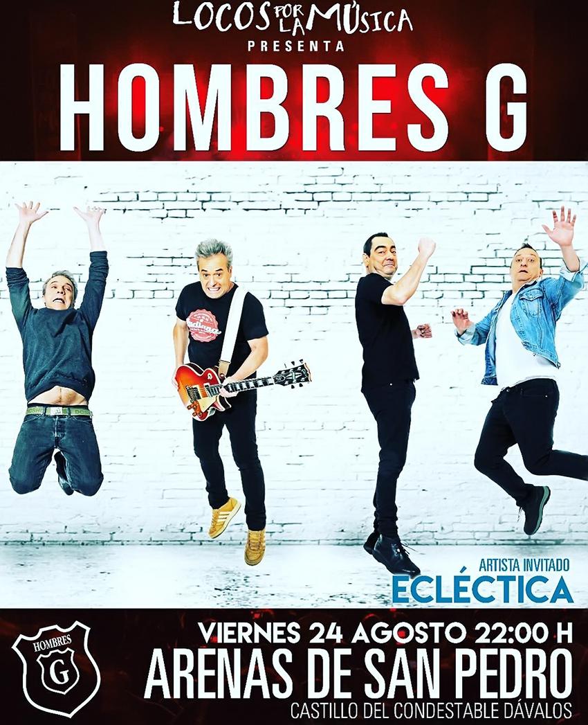 Concierto Hombres G - Arenas de San Pedro - TiétarTeVe