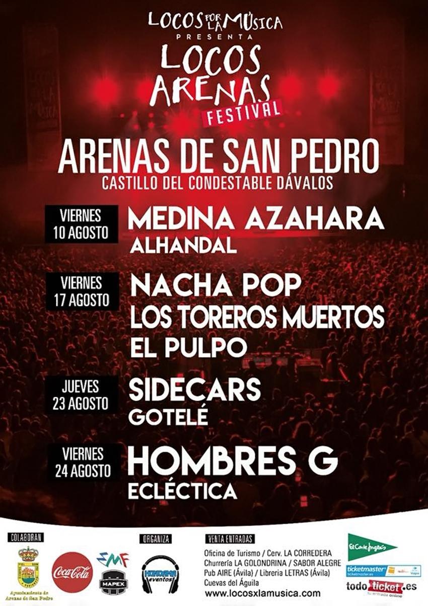 Conciertos Locos x Arenas - Arenas de San Pedro - TiétarTeVe