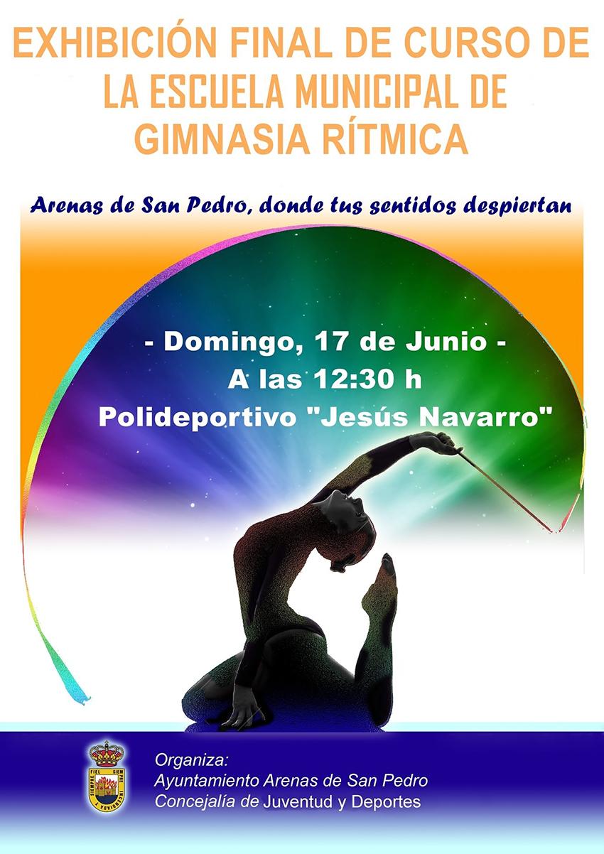 Exhibición Gimnasia Rítmica Arenas de San Pedro - TiétarTeVe
