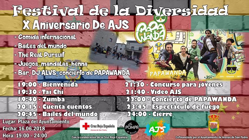 Festival de la Diversidad Arenas de San Pedro - TiétarTeVe