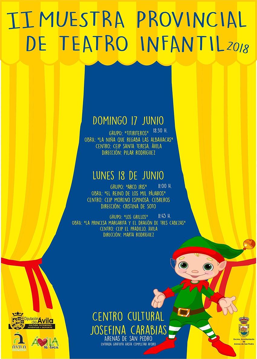 II Muestra Teatro Infantil Arenas de San Pedro - TiétarTeVe