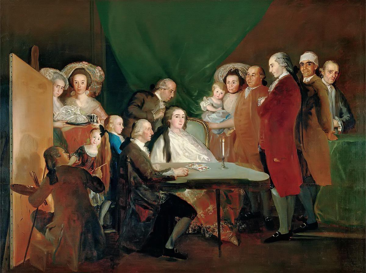 La familia del Infante don Luis - Goya - TiétarTeVe