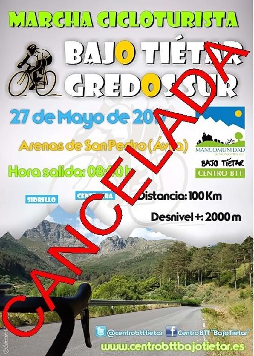Cancelada la Marcha Cicloturista Bajo Tiétar Gredos Sur - TiétarTeVe