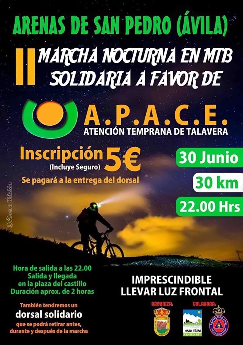 Marcha Nocturna Arenas de San Pedro - TiétarTeVe