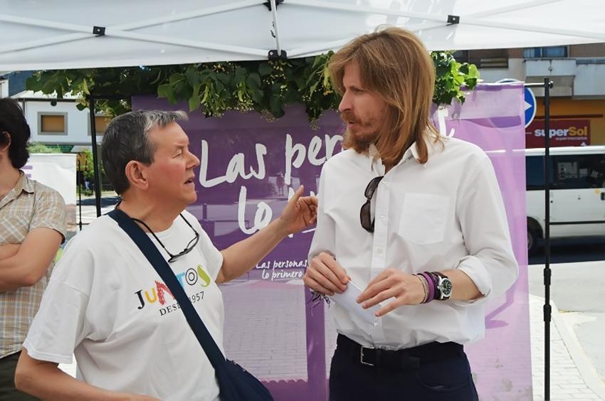 Podemos CyL en Arenas de San Pedro - TiétarTeVe