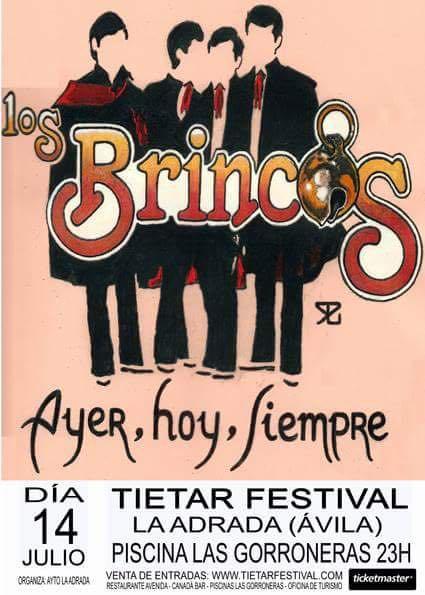 Tiétar Festival - La Adrada  - Los Brincos - TiétarTeVe