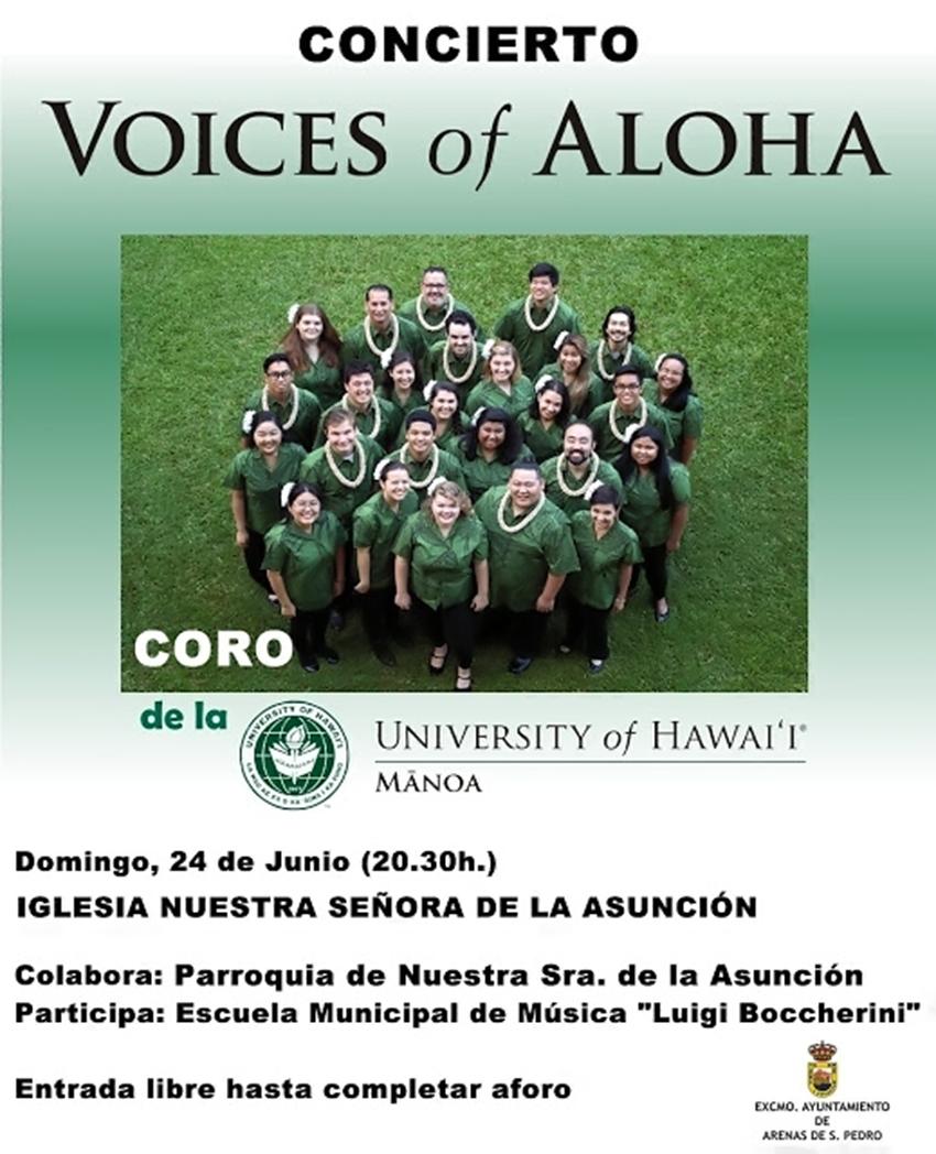 Voices of Aloha en Arenas de San Pedro - TiétarTeVe