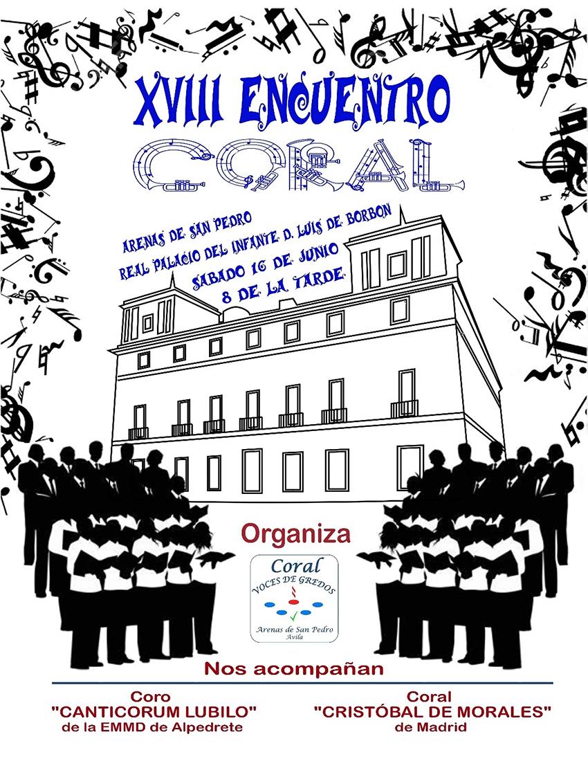 XVIII Encuentro Coral Arenas de San Pedro - TiétarTeVe