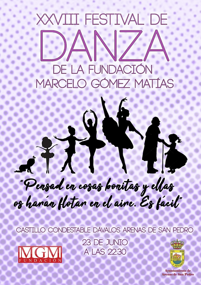 XXVIII Festival Danza FMGM - Arenas de San Pedro - TiétarTeVe