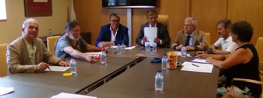 Reunión de la Plataforma en defensa de la Sanidad Pública en el Valle del Tiétar con Consejería de Sanidad JCyL - TiétarTeVe
