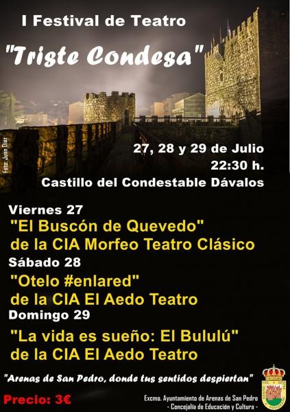 I Festival de Teatro - Arenas de San Pedro - TiétarTeVe