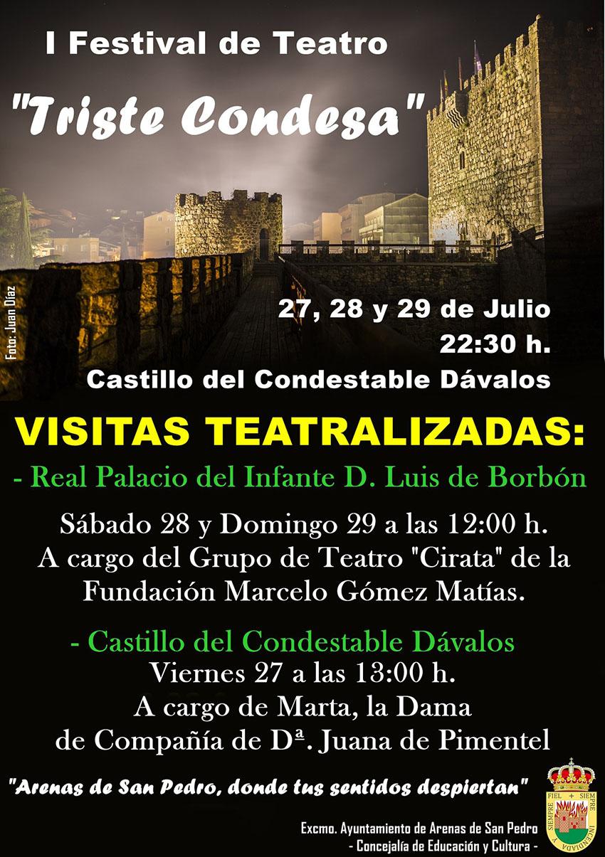 Visitas Teatralizadas en el I Festival de Teatro - Arenas de San Pedro - TiétarTeVe