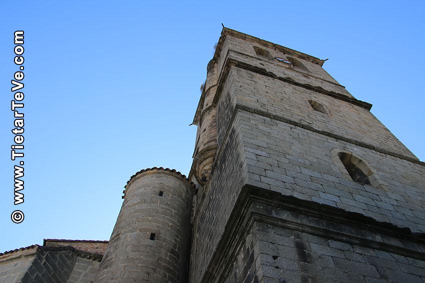 Torre de la Iglesia de Nuestra Señora de la Asunción- Arenas de San Pedro - TiétarTeVe