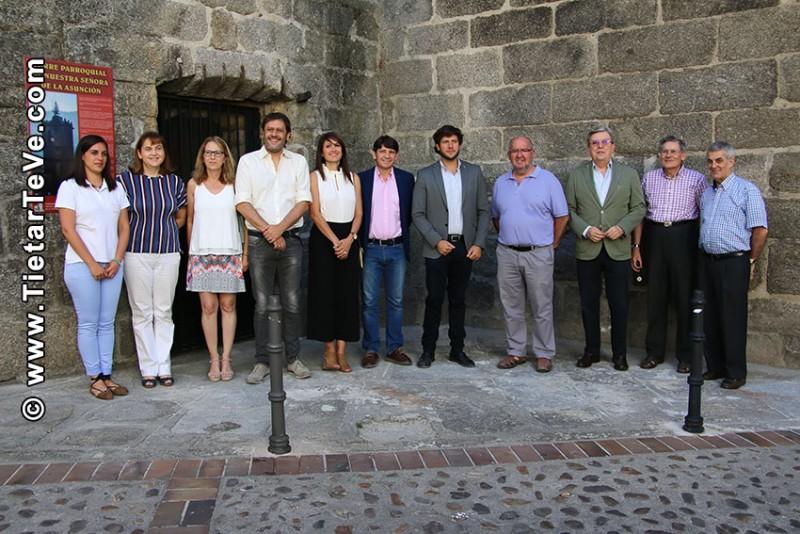 Inauguración Visitas Guiadas Torre de la Iglesia - Arenas de San Pedro - TiétarTeVe