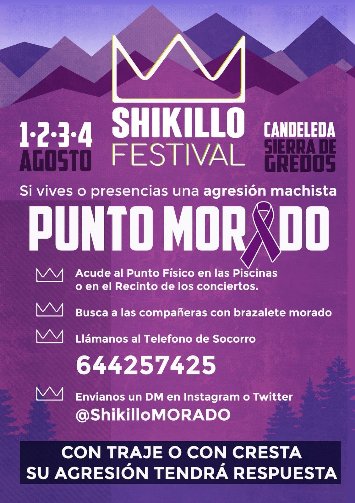 Punto Morado - Shikillo Festival - Candeleda - TiétarTeVe