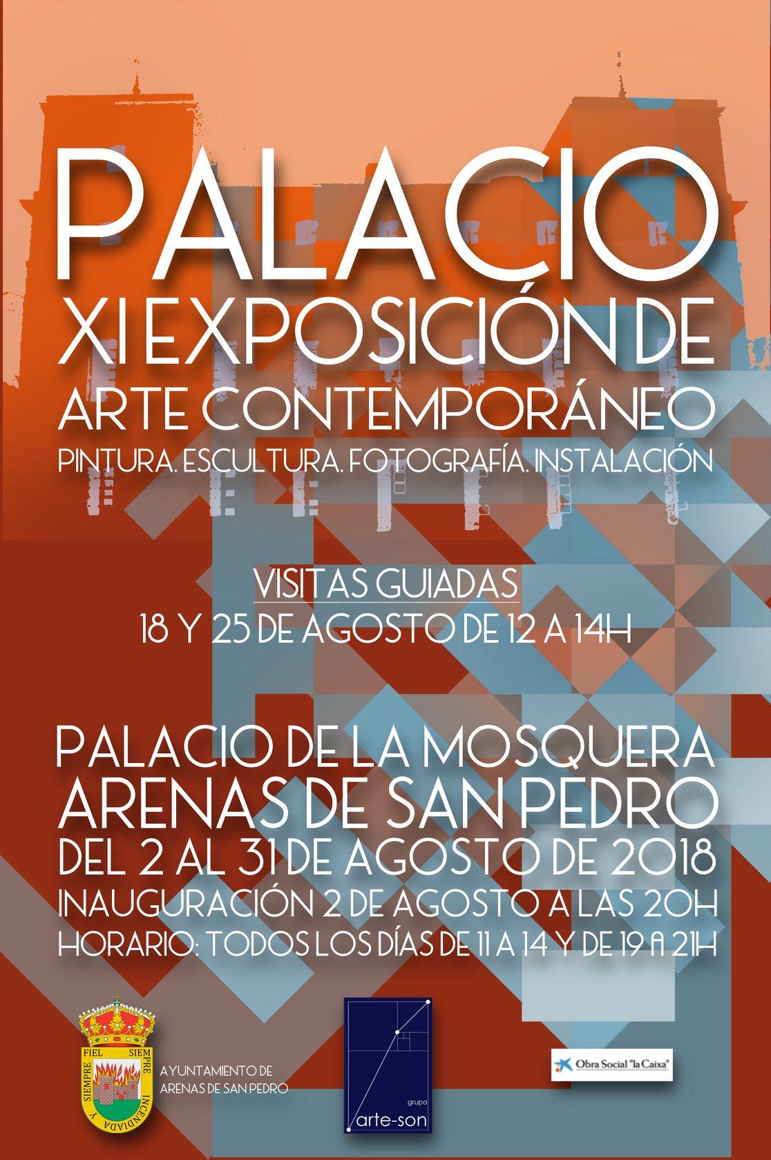 Exposición Arte Contemporáneo Palacio11 - Arenas de San Pedro - TiétarTeVe