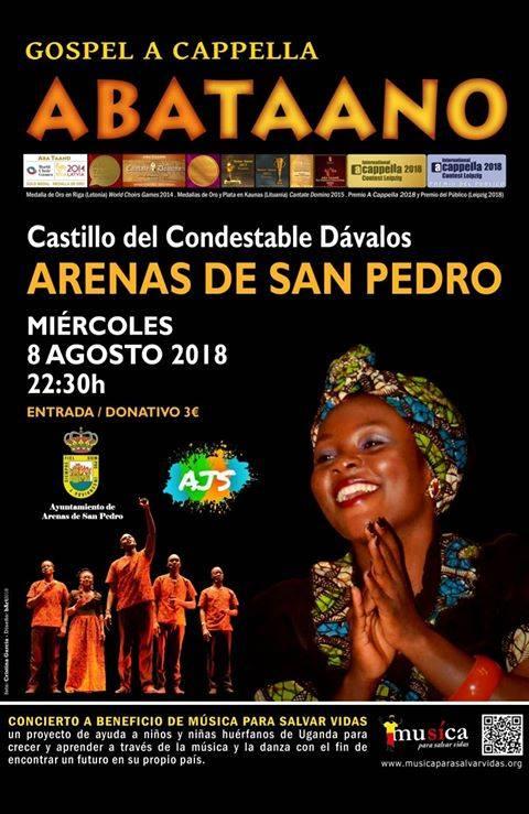 Gospel a Cappella en Arenas de San Pedro - TiétarTeVe
