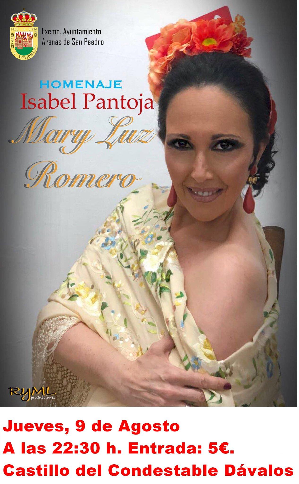 Tributo a Isabel Pantoja - Arenas de San Pedro - TiétarTeVe