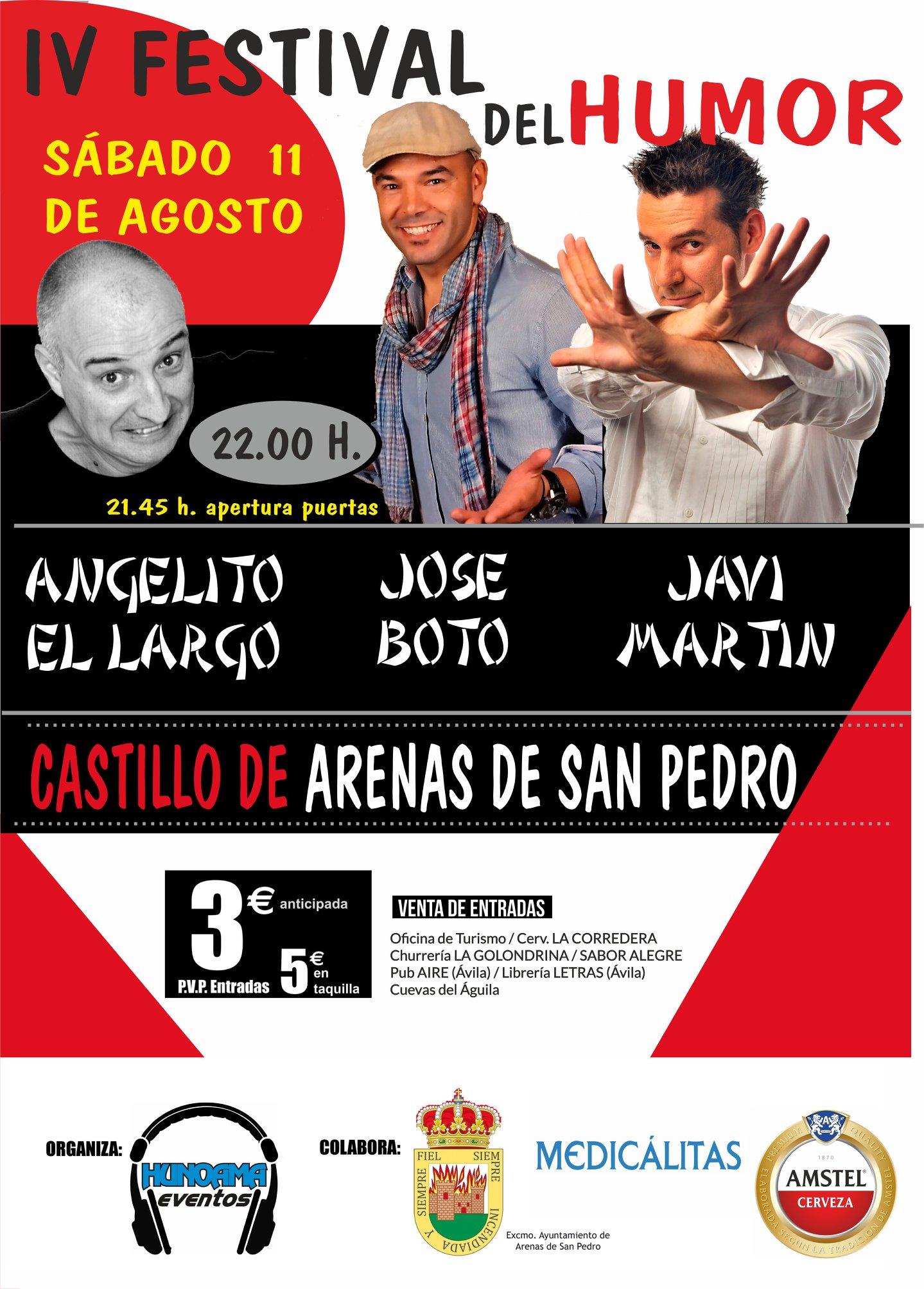 Noche de Humor - Arenas de San Pedro - TiétarTeVe